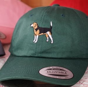 Custom Embroidered Beagle Hat VARIOUS COLORS Dog